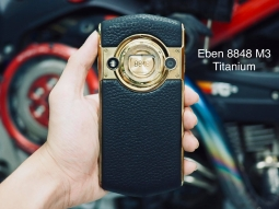 Eben 8848 Titanium M3 Gold Edition
