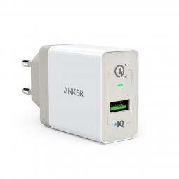 Sạc Anker 1 Cổng 18w, Quick Charge 3.0 (có PowerIQ)